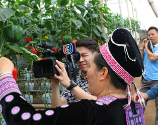 A television programme has made in Khun Sathan Royal Project Extension in Nan