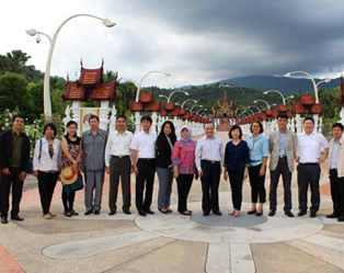 A meeting of representatives of various ASEAN embassy officials