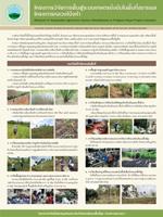 11. โครงการวิจัยการฟื้นฟูระบบเกษตรยั่งยืนในพื้นที่ขยายผลโครงการหลวงโป่งคำ